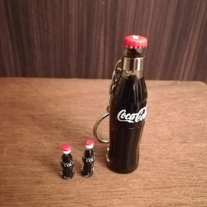 ミニチュアコーラ Coca-Cola